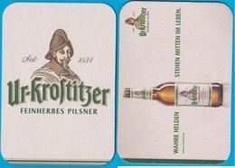 Krostitzer Brauerei Krostitz ( Bd 2356 ) - Bierdeckel