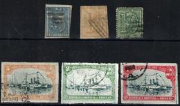 Uruguay Nº 30, 32, 36, 174/6. Año Nº 1866/1908 - Uruguay