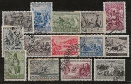 Russie 1933 N°Y.T. ;  476 à 496 Obl. - 1923-1991 USSR