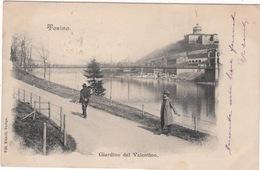 CPA : Torina , Giardino Del Valentino  ( Turin ) - Italia