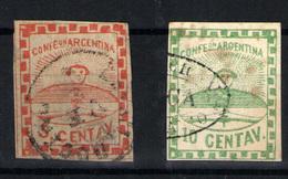 Argentina Nº 1/2. Año Nº 1858 - 1858-1861 Confederación