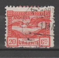 ANDORRA C. ESPAÑOL SELLO USADO  CORREO URJENTE Nº 43 C. M.ABAD.  (S.1B) - Usados