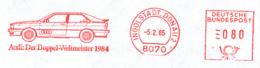 Freistempel 1101 Audi Doppel Weltmeister 1984 - Poststempel - Freistempel