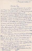 974 - ILE DE LA REUNION - LETTRE DE 1950  ECRITE DE ST JOSPEH - Documentos Históricos