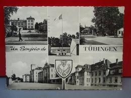 Un Bonjour De TÜBINGEN 1960 Poste Aux Armées Caserne - Tübingen
