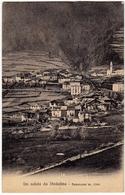 UN SALUTO DA STADOLINA - PANORAMA - VIONE - BRESCIA - 1915 - Vedi Retro - Formato Piccolo - Brescia