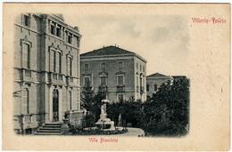 VITTORIO VENETO - VILLA BIANCHINI - TREVISO - Primi '900 - Vedi Retro - Formato Piccolo - Treviso