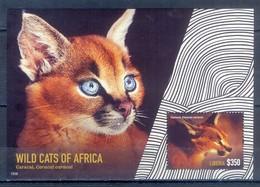 G10- Liberia Wild Cats Of Africa. Fauna Of Africa Caracal. - Liberia