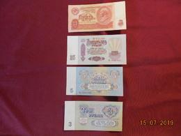 Lot De 4 Billets Des Années 60 - Russie