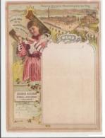 MENU 1900s - EAU DE TABLE DE LA MAISON ROYALE DES PAYS-BAS - SOURCE VICTORIA OBERLAHNSTEIN LEZ EMS - AMSTERDAM - RARE - Menus
