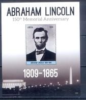 G13- Liberia 2015 150th Anniversary Of Abraham Lincoln. - Liberia