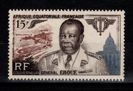 AEF - YV PA 61 N* Eboué Cote 5,25 Euros - A.E.F. (1936-1958)