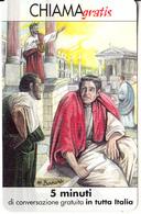 ITALY - Lucio Anneo Seneca, Telecom Italia(chiama Gratis) Promotion Prepaid Card, Tirage 3500, Exp.date 15/08/03, Mint - Army
