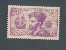FRANCE - N°YT 296 NEUF* AVEC CHARNIERE - COTE YT : 30€ - 1934 - Unused Stamps