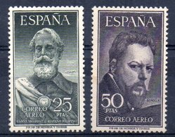 Serie Nº 1124/5 España - 1951-60 Nuevos & Fijasellos