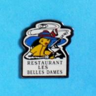 1 PIN'S //  ** RESTAURANT / LES BELLES DAMES ** - Food