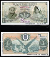 B2-COLOMBIA - 2000`S PRIVATE CURRENCY. $ 1 CHIQUITO - BANKNOTE USED ON A COFFE FARM IN CALARCA, QUINDIO DEPARTMENT - Colombia