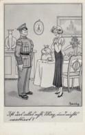 Deutsches Reich Postkarte Kriegshumor 1938-45 - Deutschland