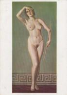 Deutsches Reich Postkarte Munchen Haus Der Deutchen Kunst - Briefe U. Dokumente