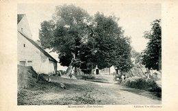 14079 -  Hte Saone -  ABONCOURT  :LA FERME ET SES BATIMENTS.....    -   Circulée En 1922 - France