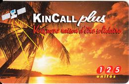 FRANCE - Sunshine, KinCall Prepaid Card 125 Unites, Exp.date 30/08/98, Used - Landscapes
