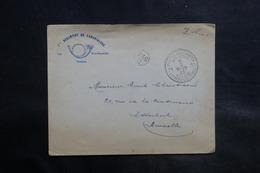BELGIQUE - Enveloppe Du 1er Régiment De Carabiniers En FM (occupation Belge De La Ruhr) Pour Bruxelles En 1923 - L 34859 - Poststempels/ Marcofilie