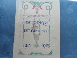 Historique 57émé RI Rochefort Libourne - 1914-18