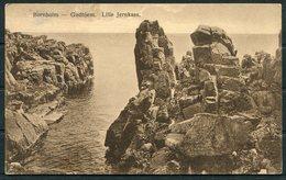 Denmark Bornholm Gudhjem. Lille Jernkaas Postcard. - Denmark