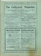 The Collector's Magazine N°50 Novembre 1905 Philatélie,Numismatique Cartes Postales - Inglesi (prima Del 1940)