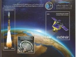 UAE / United Arab Emirates 2019 - Khalifa Satellite SS MNH - United Arab Emirates