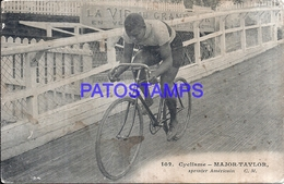 115806 FRANCE SPORTS CYCLING BIKE MAJOR TAYLOR US SPOTTED POSTAL POSTCARD - Verenigde Staten