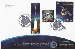 UAE / United Arab Emirates 2019 - Khalifa Satellite FDC - United Arab Emirates