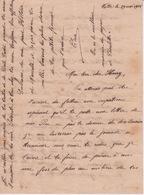 974 - ILE DE LA REUNION - LETTRE MANUSCRITE DE VALLEE DESTINEE A MR HENRY PAYET MANAPANY ST JOSEPH - Documentos Históricos
