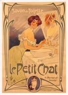 CPA Publicité SAVON LE PETIT CHAT MISTI - Vers 1900 - Werbepostkarten
