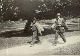 HOP PICKING  BAVARIA GERMANY DEUTSCHLAND Hallertau Holledau HOPFEN +- 16* 12 CMFonds Victor FORBIN (1864-1947) - Fotos