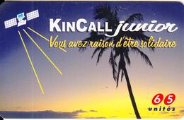 FRANCE - Satellite, KinCall Prepaid Card 65 Unites, Exp.date 31/10/98, Used - France