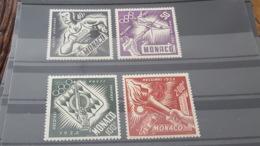 LOT 462818 TIMBRE DE MONACO NEUF** LUXE N°51 A 54 - Poste Aérienne