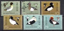 Polen 1985  Mi.nr: 2998-3003 Naturschutz: Wildenten  Oblitérés / Used / Gestempeld - Canards