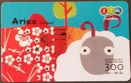 Mobilecard Thailand - 12Call - Sternzeichen,Zodiac - Widder - Thailand