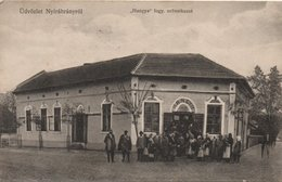 Hungary, Nyirábrány, Shop With Villagers - Ungheria