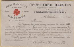 ST  MEME LES CARRIERES      Carte De Visite - Francia