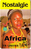 FRANCE - Africa, Nostalgie Prepaid Card 50 F/7.62 Euro, Exp.date 31/05/03, Used - France