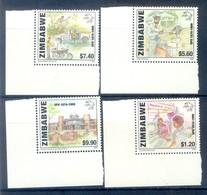 G34- Zimbabwe 1999 UPU 125th Anniversary. - Zimbabwe (1980-...)