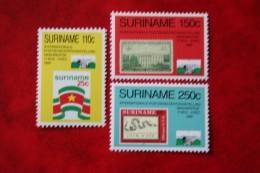 Surinam / Suriname 1989 Set Washington Stamp Expo (ZBL 639-641 Mi 1314-1316 Sc 849-851) POSTFRIS / MNH ** - Suriname