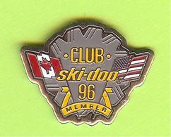 Pin's Club Ski-Doo 96 - 6GG14 - Associations