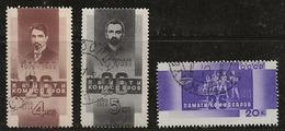 Russie 1933 N°Y.T. ;  504 à 506 Obl. - 1923-1991 USSR