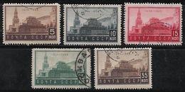 Russie 1934 N°Y.T. ;  514 à 518 Obl. - 1923-1991 USSR