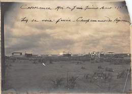 Ancienne Photographie - Casablanca Mai Juin Juillet Août 1908 - Campements De Légionnaires - Africa