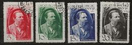 Russie 1935 N°Y.T. ;  565 à 568 Obl. - 1923-1991 UdSSR