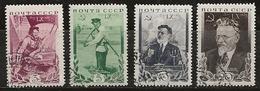 Russie 1935 N°Y.T. ;  573 à 576 Obl. - 1923-1991 USSR